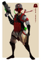 Red Agent by DavidAlvarezArt