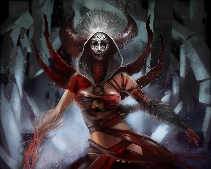 Sorceress Queen by Rez-art