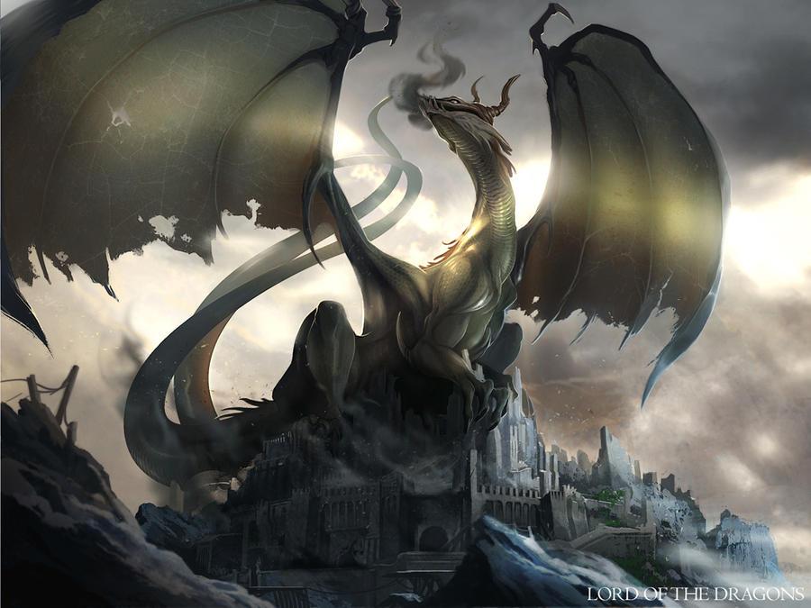 God Dragon by Rez-art