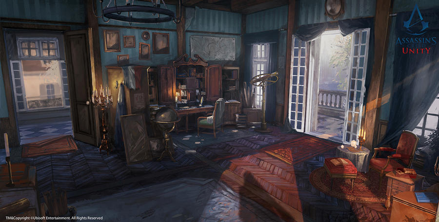 Assassin's Creed Unity /// Arno's desk by Rez-art
