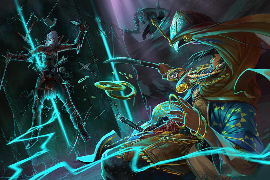 Pathfinder : The Emerald Spire Superdungeon by DavidAlvarezArt