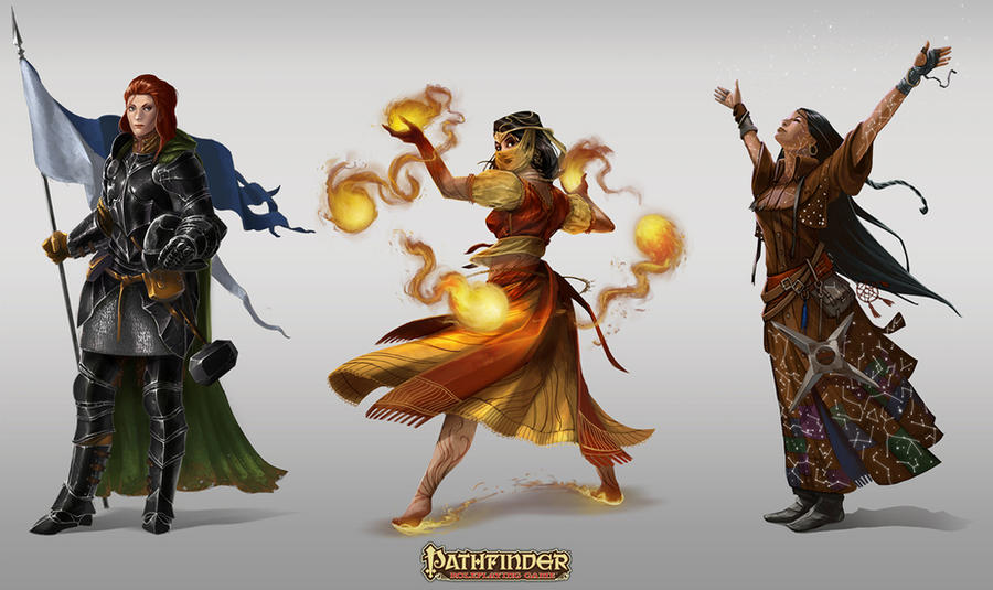 Pathfinder Roleplaying Game: Strategy Guide by Rez-art