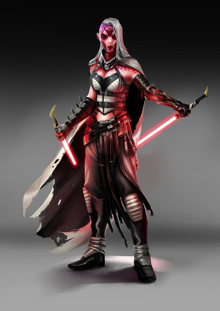 Darth Orchid by Rez-art