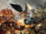 Astorath VS Ghazghkull /// Warhammer fan art