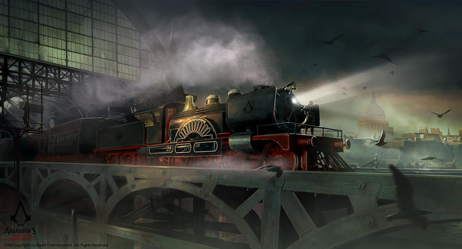 Assassin's Creed Syndicate /// Train Hideout mood by Rez-art