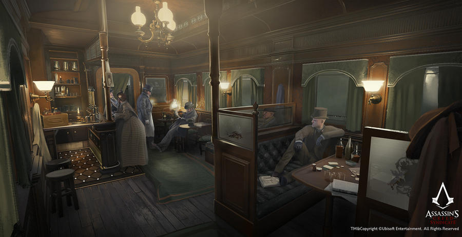 Assassin's Creed Syndicate /// Gang carriage by Rez-art