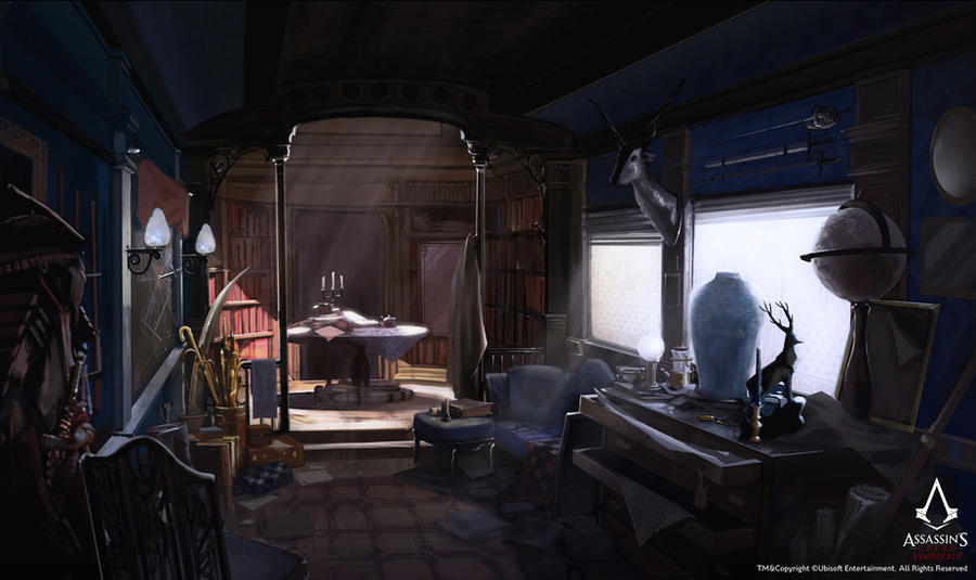 Assassin's Creed Syndicate /// Jacob's carriage by Rez-art