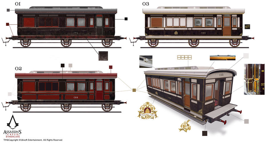 Assassin's Creed Syndicate /// Carriage design by Rez-art