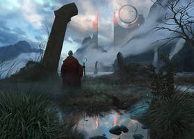 Pilgrimage by DavidAlvarezArt