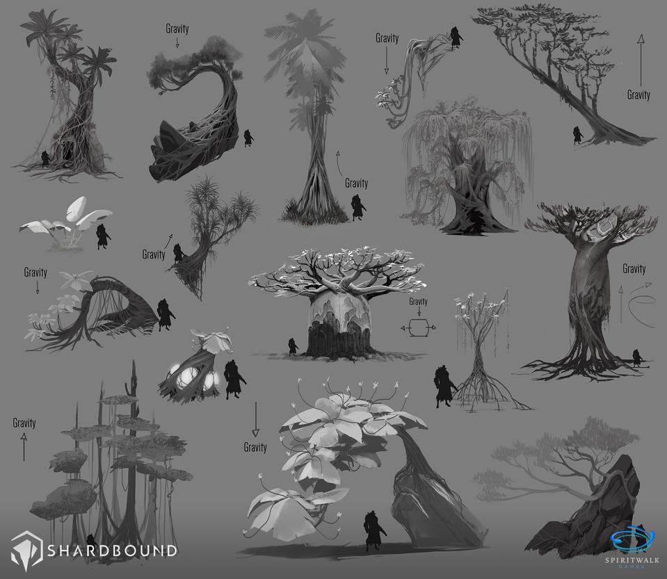 Trees Vis Dev 02 - Shardbound by DavidAlvarezArt