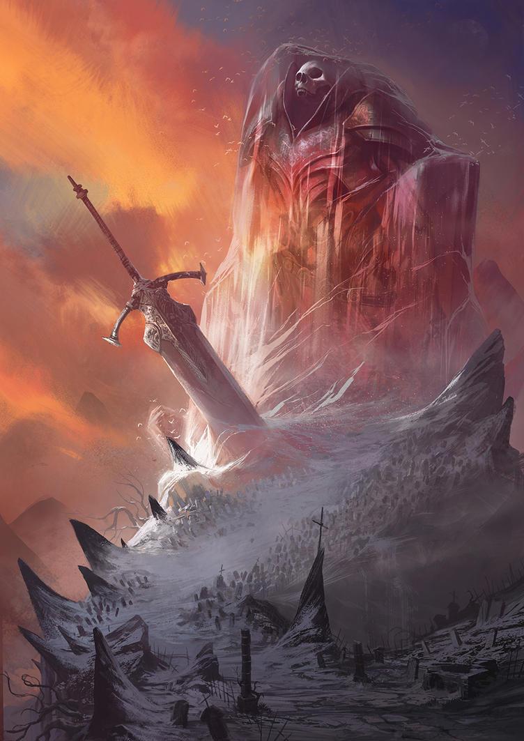 Frozen God by DavidAlvarezArt