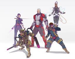 Cyber X-Men by DavidAlvarezArt