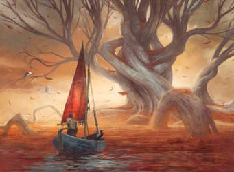 Fisherman by DavidAlvarezArt
