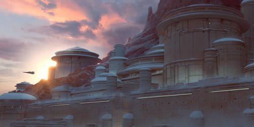 Imperial City - Winter by DavidAlvarezArt