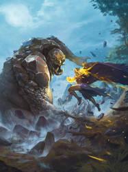 Wilderness Origins - Pathfinder cover by DavidAlvarezArt
