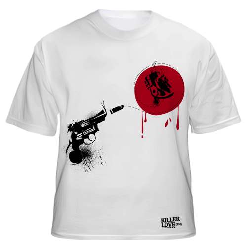 Killer love t shirt design by kntz on deviantart for How to copyright at shirt design