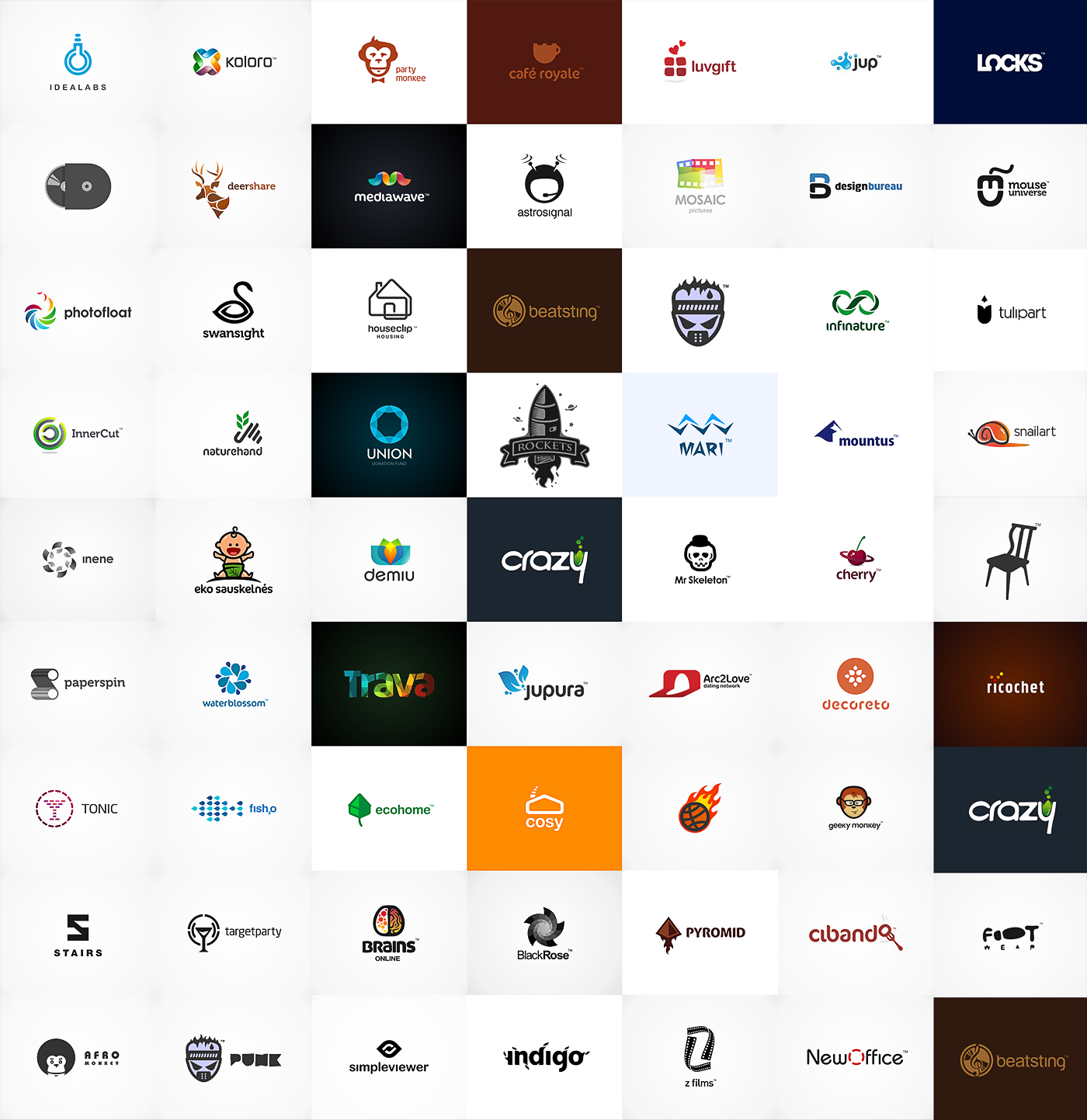 ULTIMATE LOGOFOLIO by kntz