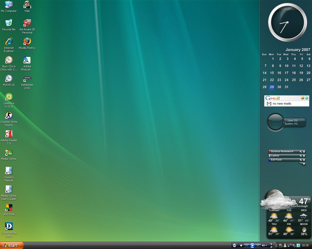Desktop With SideBar by getfirefox
