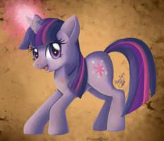 Twilight Sparkle Painting by Pony-Spiz