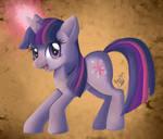 Twilight Sparkle Painting