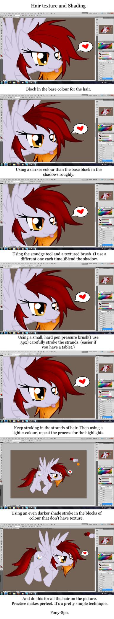 Mane: Shading and Texturing by Pony-Spiz