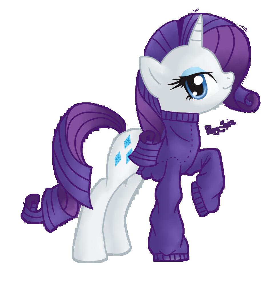 Rarity by Pony-Spiz