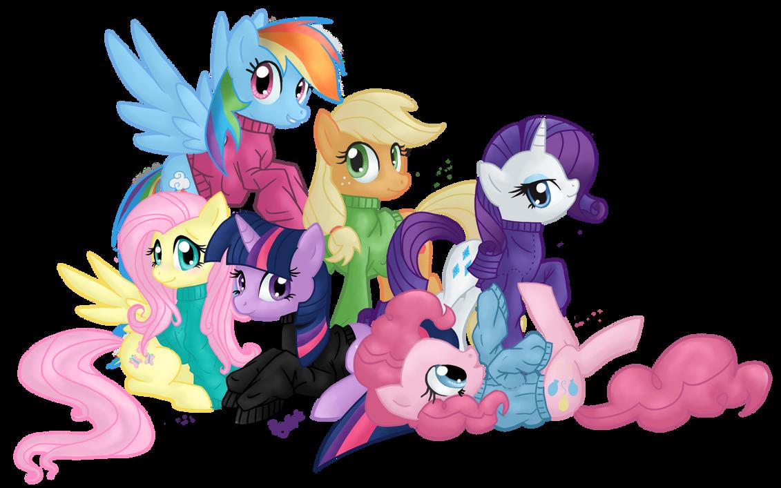 Sweaters are Magic by Pony-Spiz