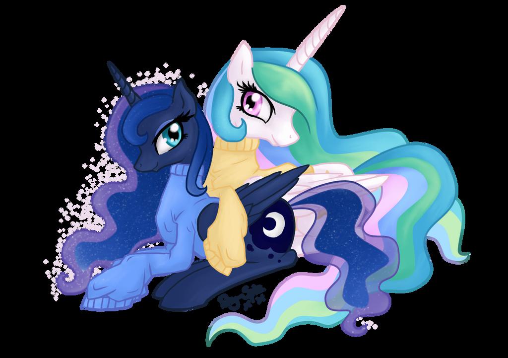 Royal Sisters by Pony-Spiz