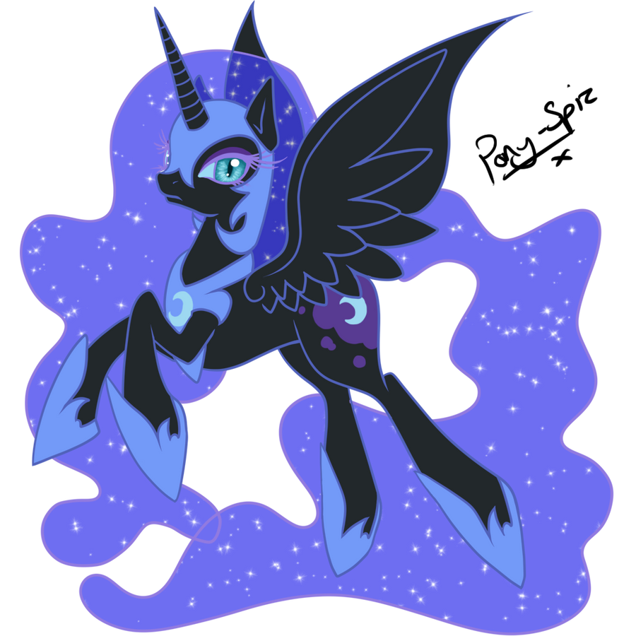 Nightmare Moon by Pony-Spiz