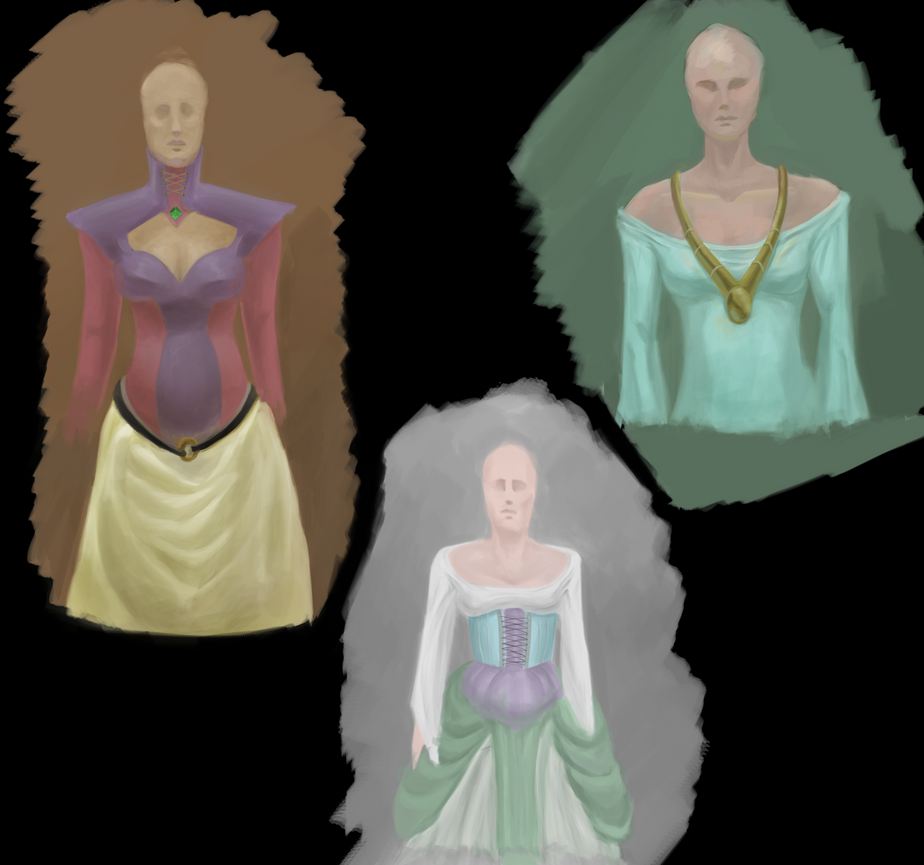 Clothes Study 5 : More fantasy stuff by pixg
