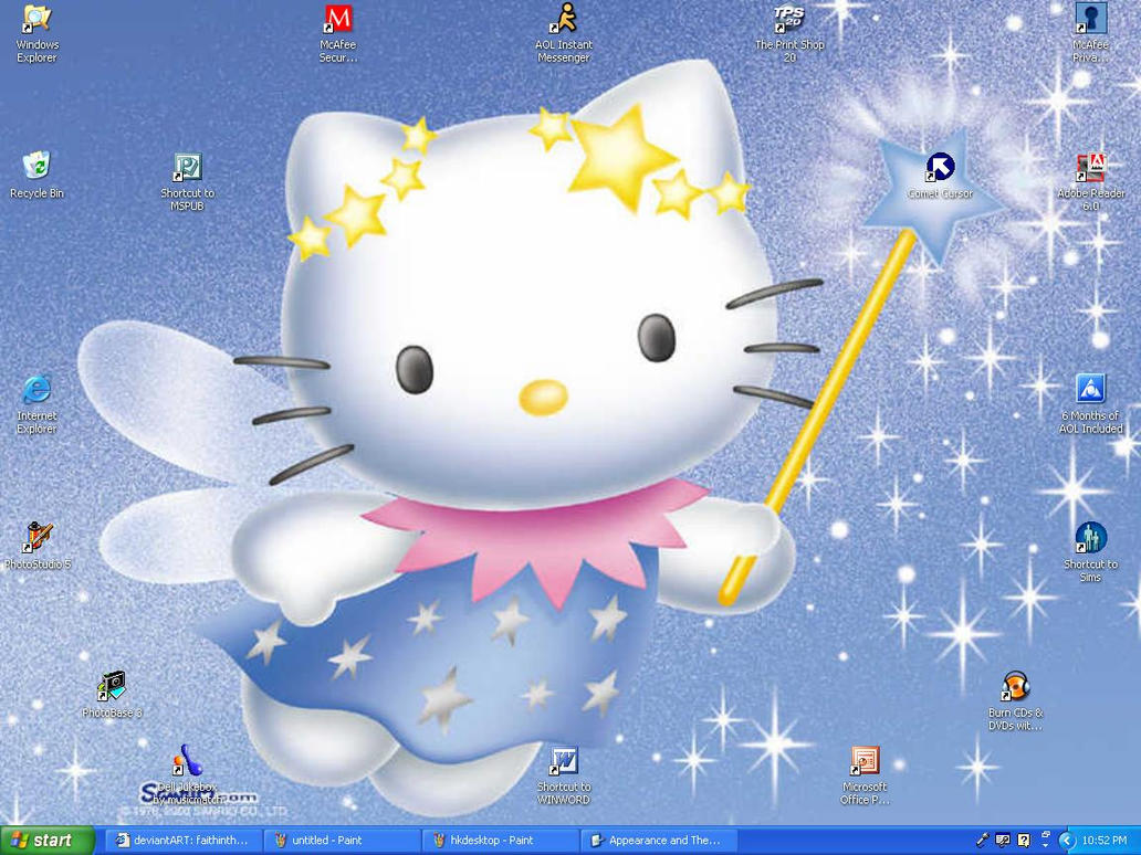 Hello Kitty screenshot by faithinthesummer