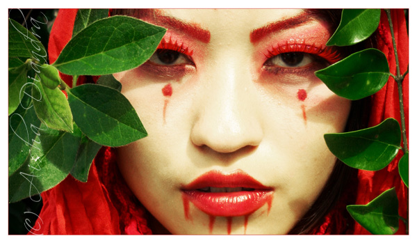 red geisha II by misericordia