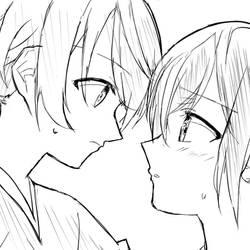 yuu and touko(yagate kimi ni naru)