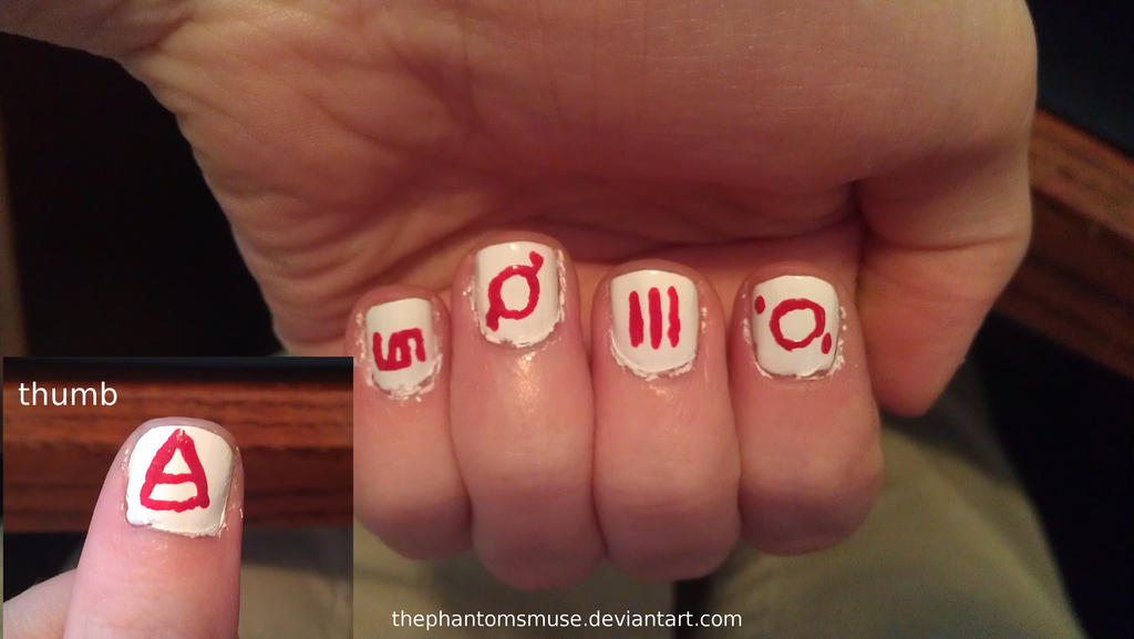 Echelon Nails 30 Seconds To Mars By Thephantomsmuse On Deviantart