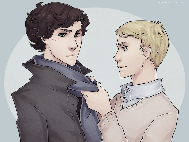 SHERLOCK: 'let me fix that for you, sherlock.' by eevf