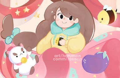 [ COMM ] Bee and puppycat party