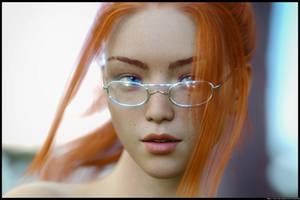 Meleah Portrait #2 by Renderfem