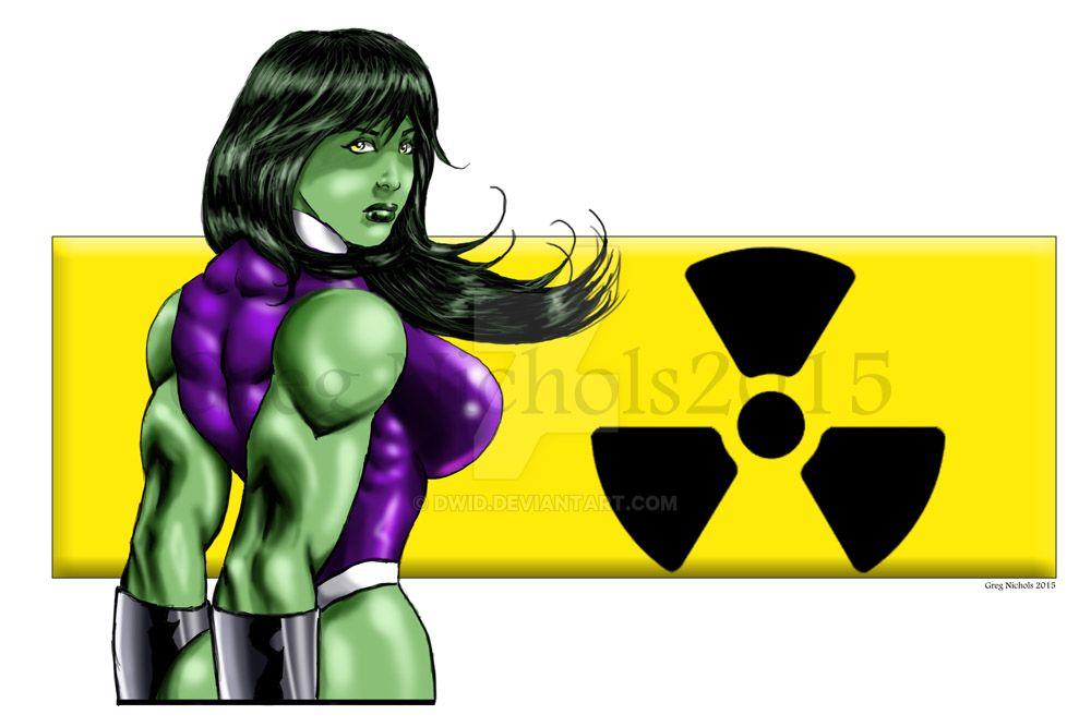 She Hulks Gamma Ray Symbol By Dwid On Deviantart