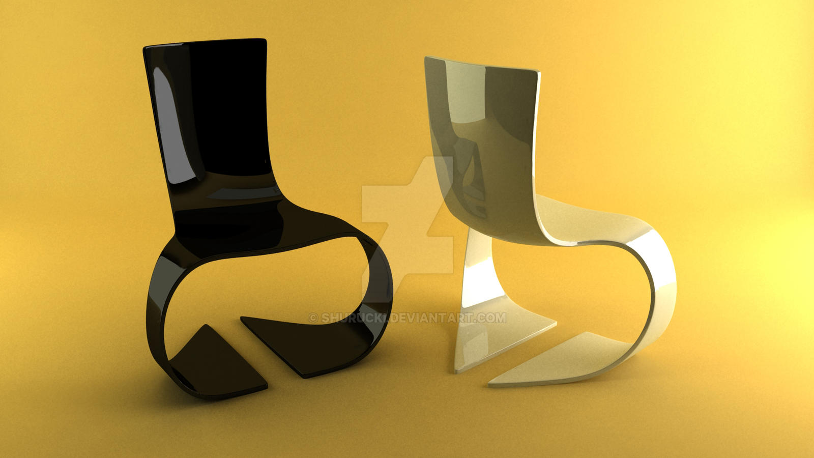 Abstract Chairs By Shurucki Abstract Chairs By Shurucki
