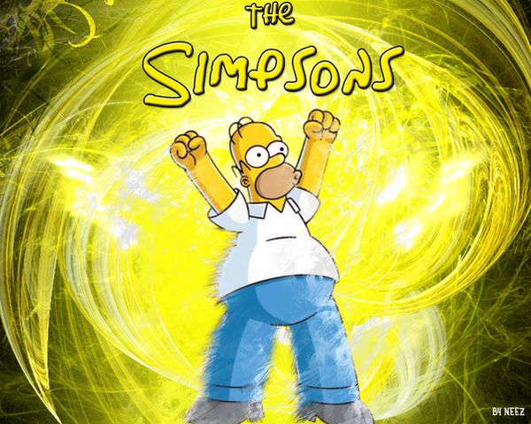 simpsons wallpaper. Los simpsons wallpaper by
