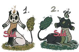 [CLOSED] Forest Spirits Adopts - 1