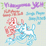 [OPEN 9/10] Videogames YCH by Cora-Rosemountain