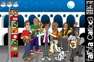 Farofa Carioca website