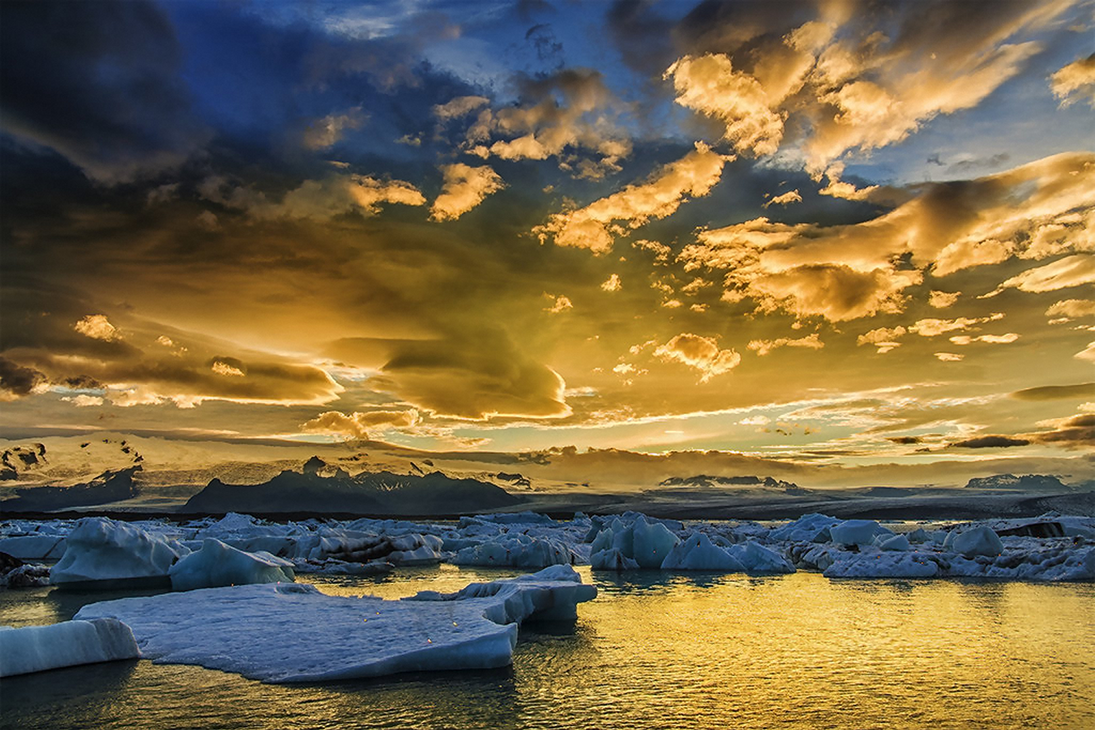 Summer Glacier By Patimakowska-dagp4he by David-Holman