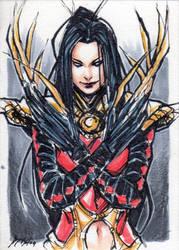 Lady Deathstrike by kathrynlayno by Akuma81