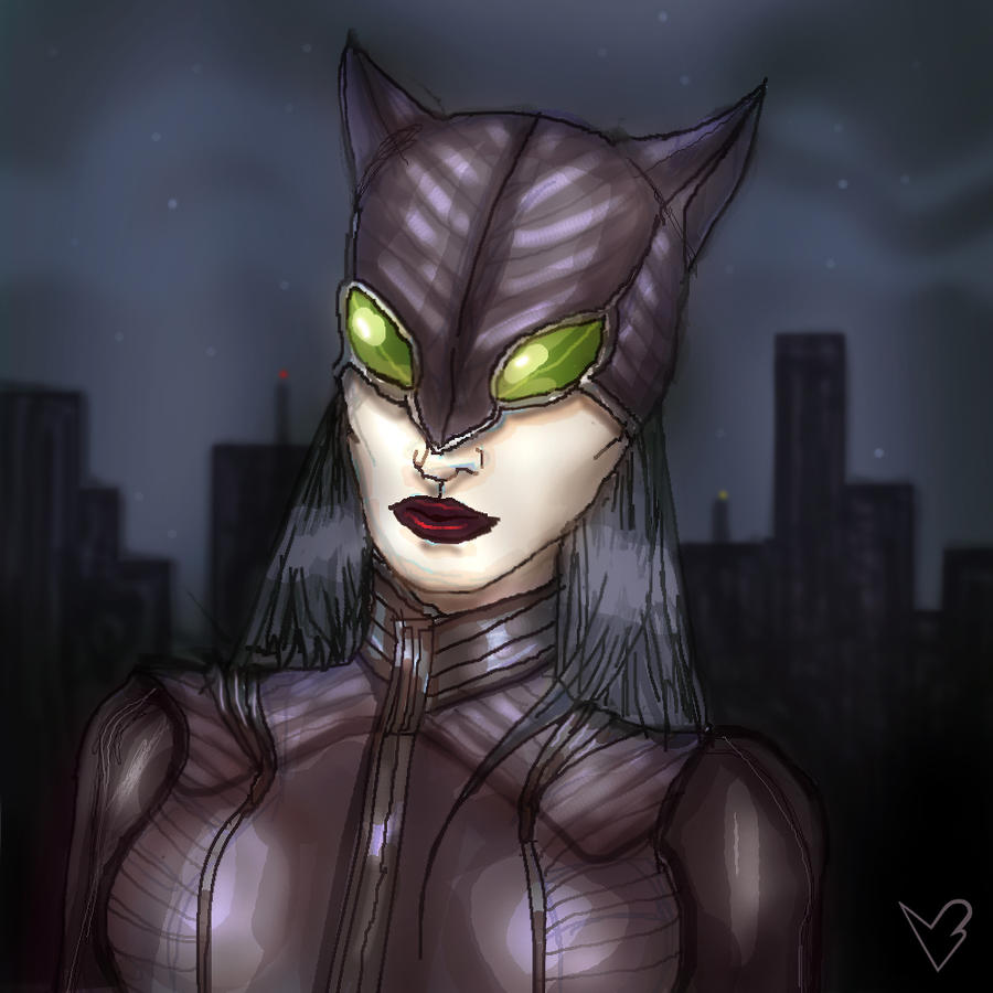 Catwoman Redesign by bloogun