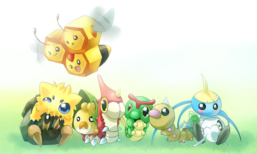 Resultado de imagen de bicho tipo pokemon