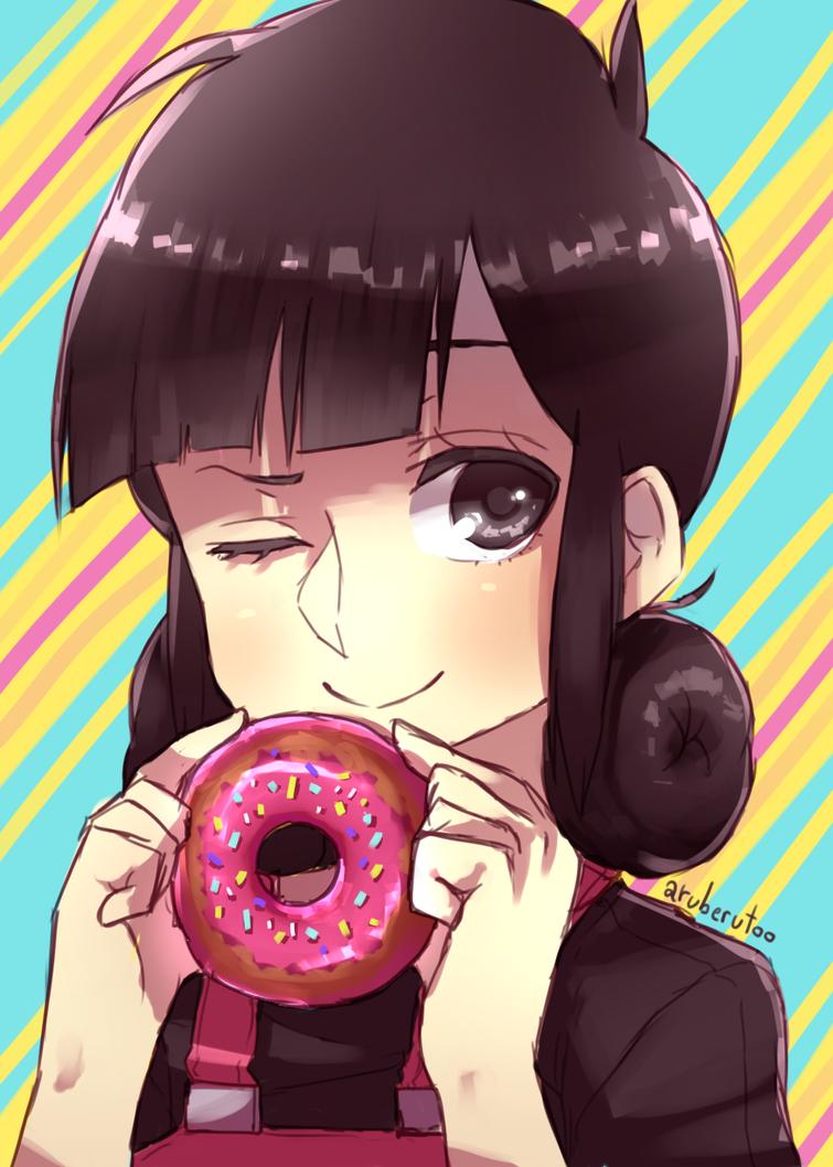 Hiyori Donut's Day! by AxelPows