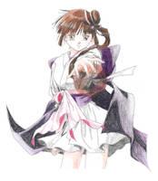 Vampire Princess Miyu -color- by ladyalikolecir