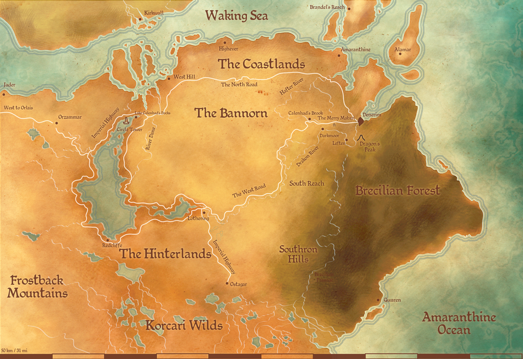 tmm map of ferelden by weerlegion on deviantart